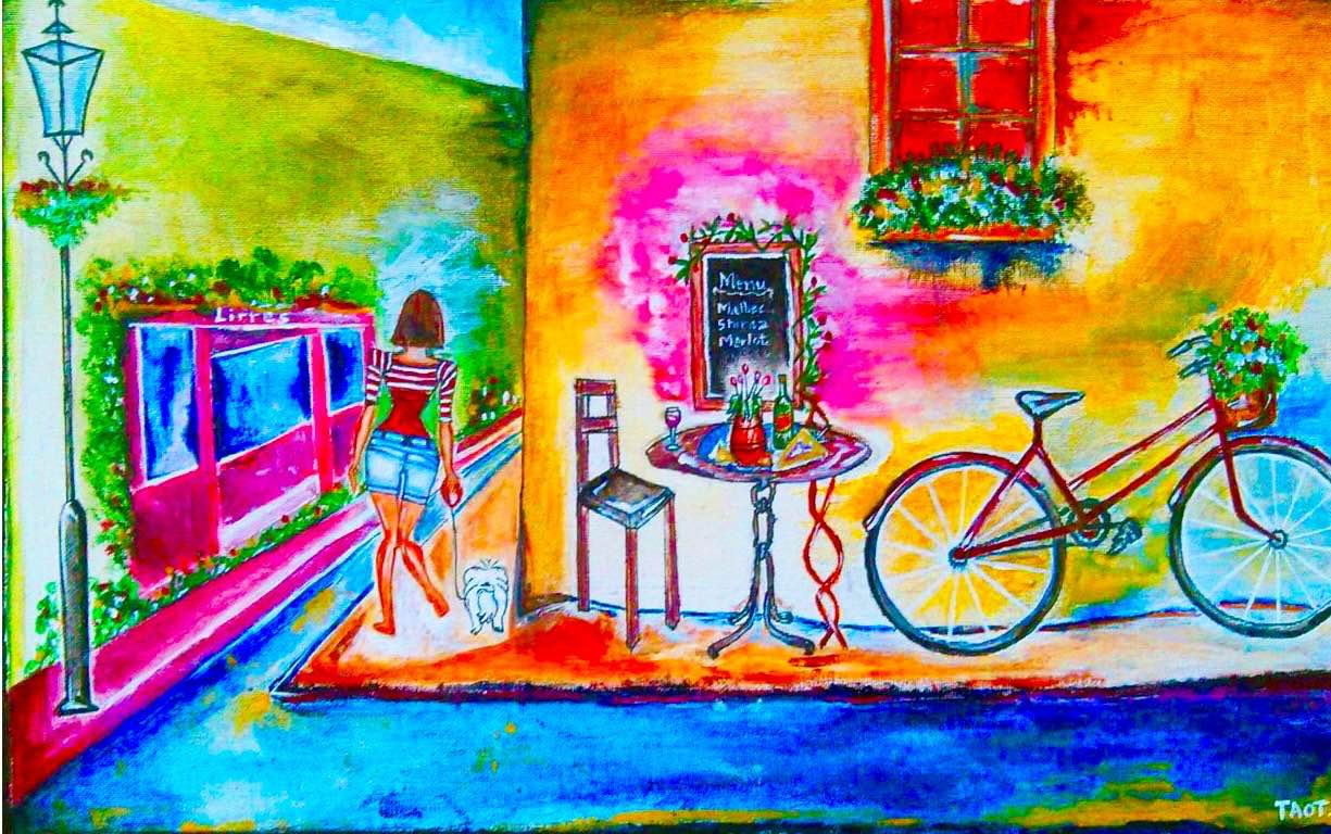 The Cafe Bicycle 12137