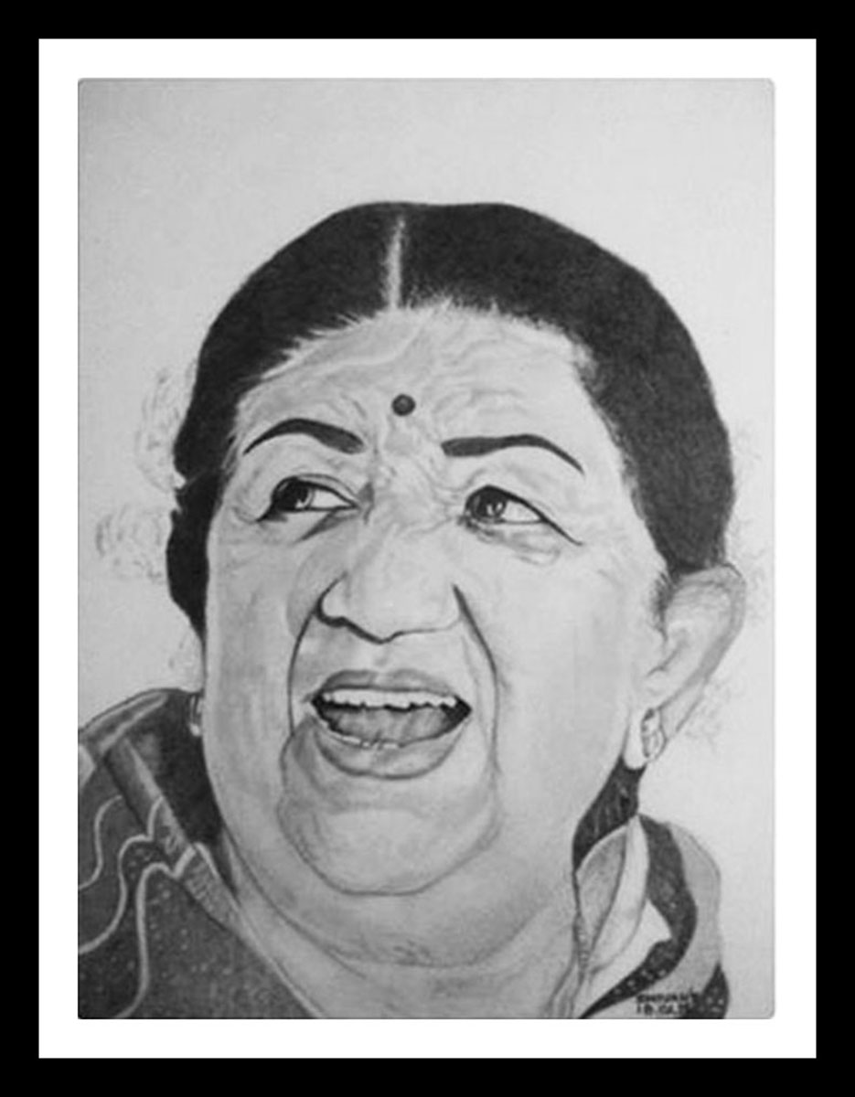 Indian Singer Lata Mangeshkar 12226