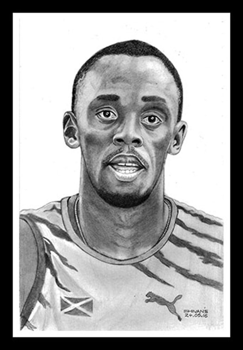 Jamaican Athlete - Usain Bolt 12422