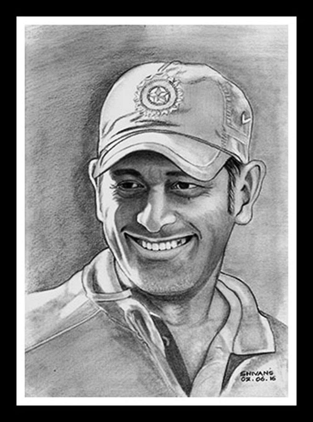 Indian Cricketer M.S. Dhoni 12666