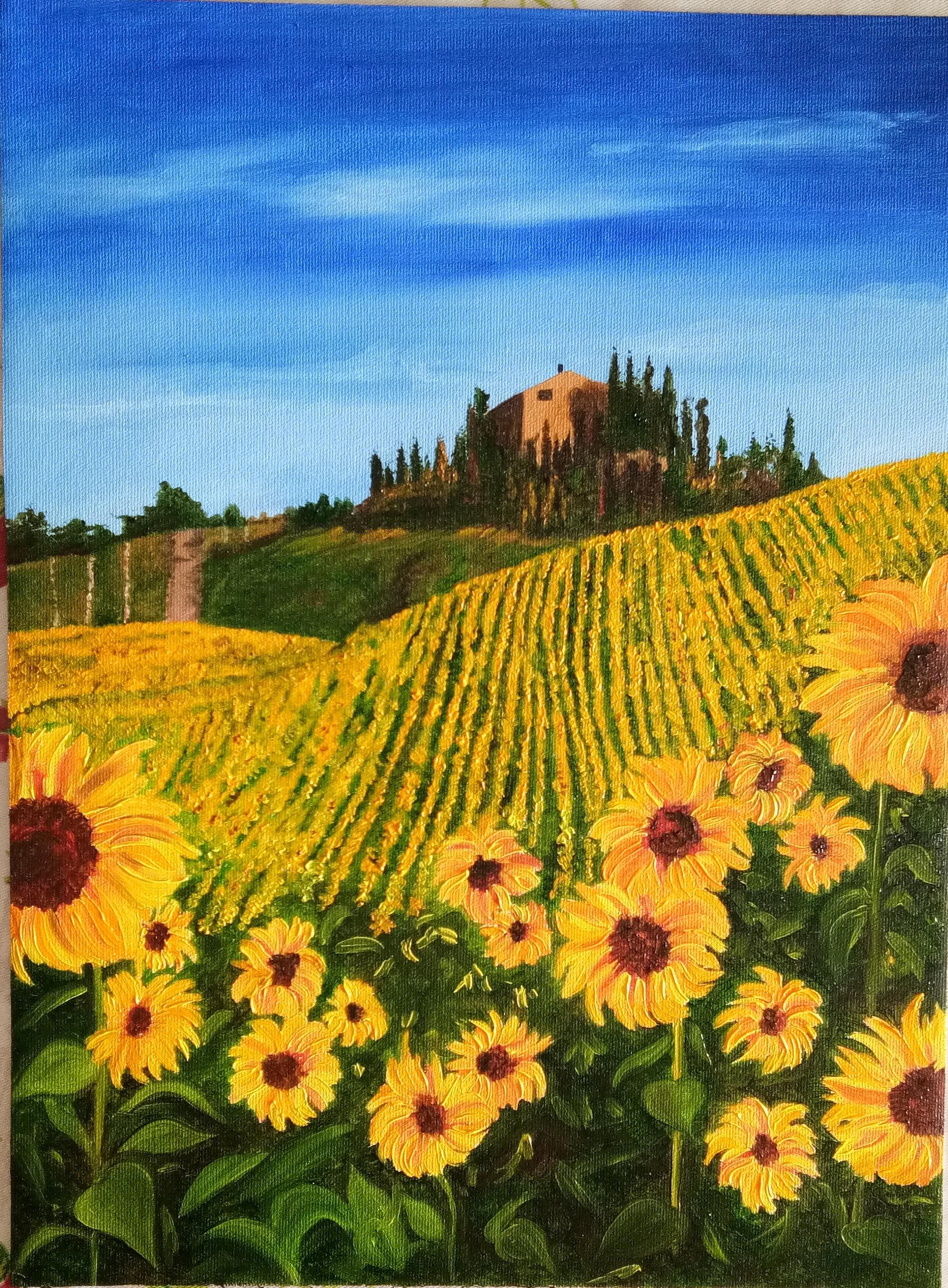 Sunflowers 12912