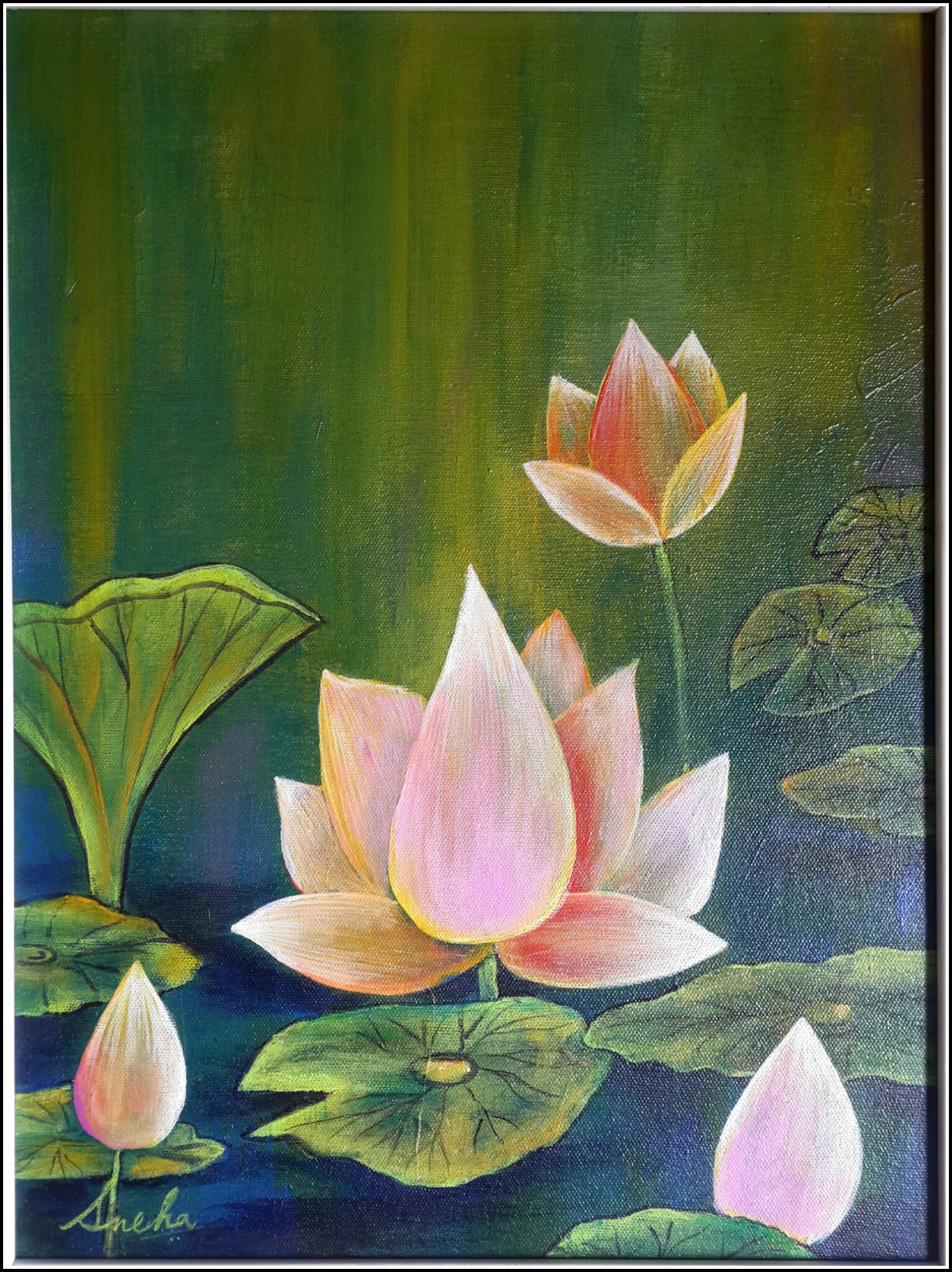 The scent of Lotus 13012
