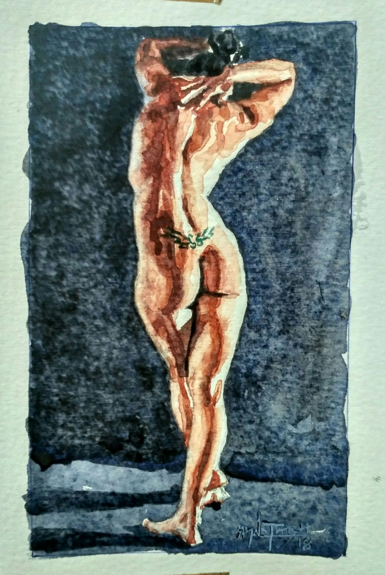 Female nude 13295