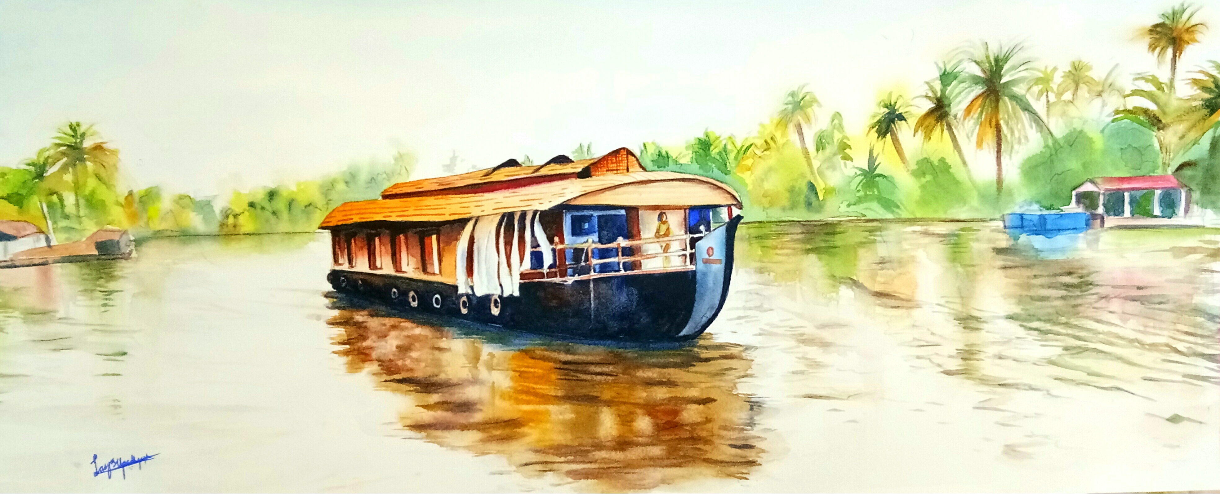 Cruising the backwaters 13845
