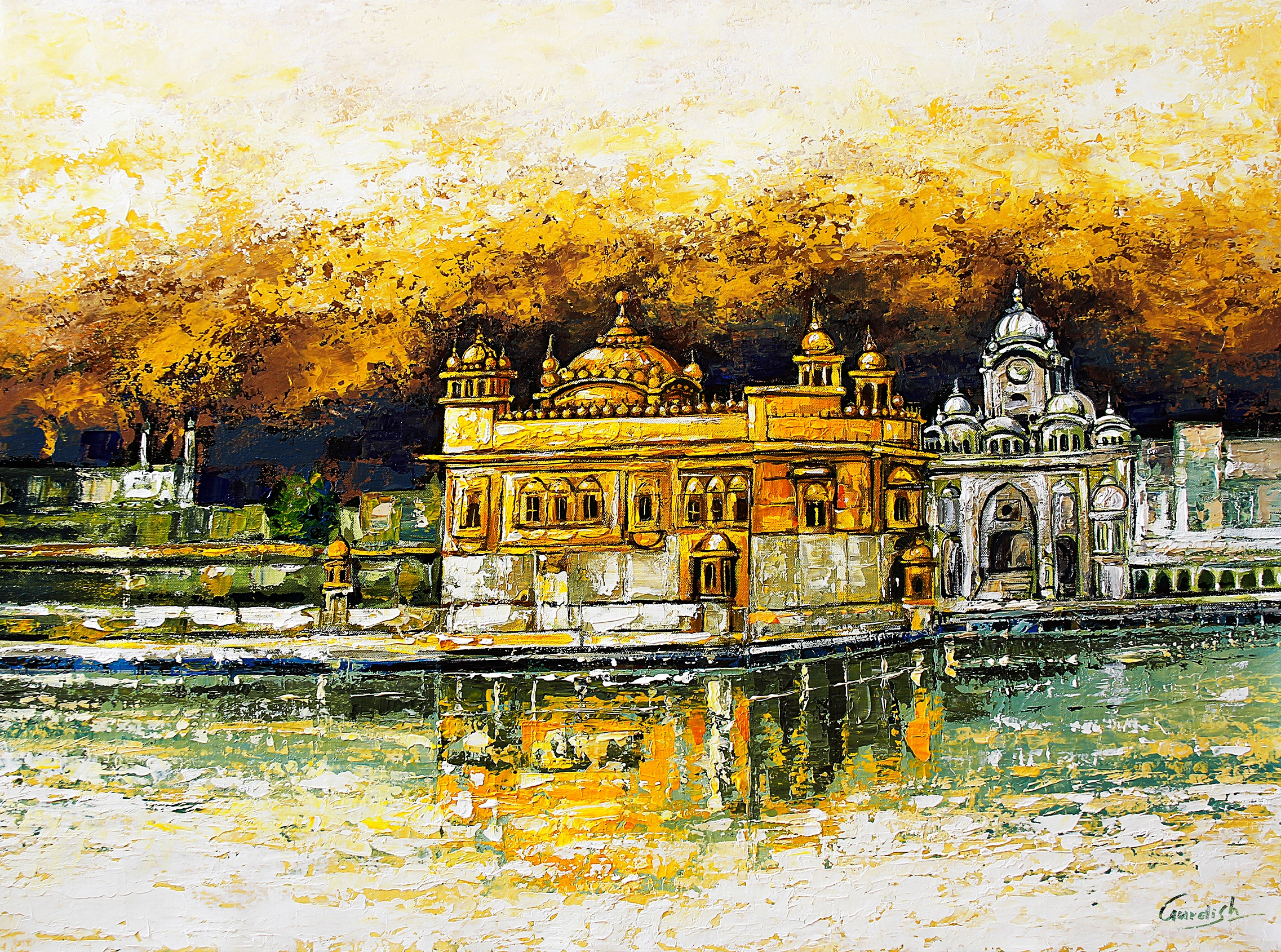 The Golden Temple_Gold 13691