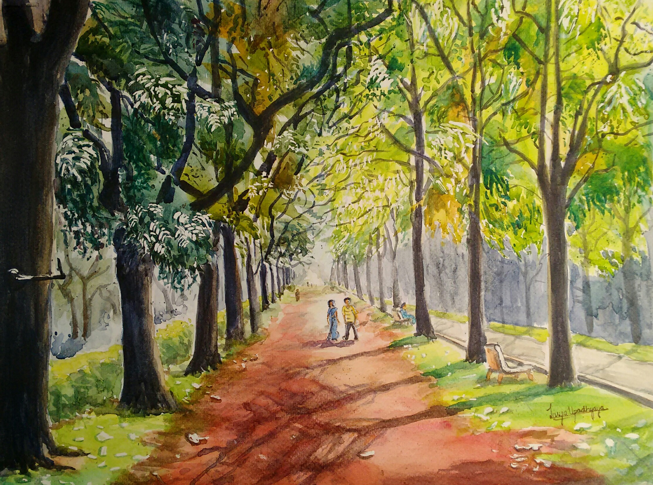 Blissful shades of Cubbon park 14015