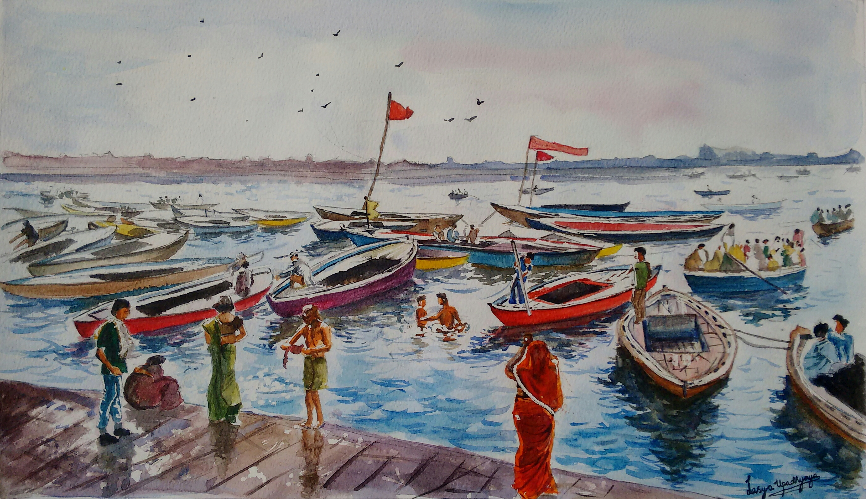 Ferries of the Ganges 14017