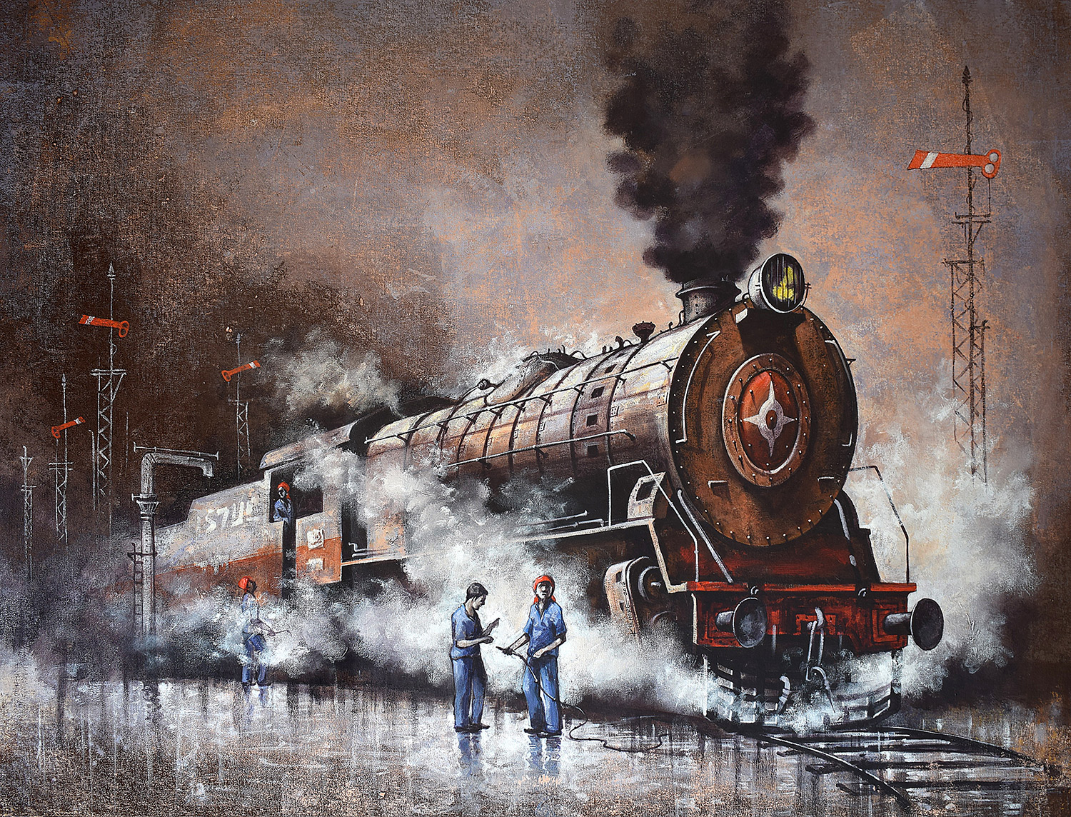 Nostalgia of Indian steam locomotives 18 14723