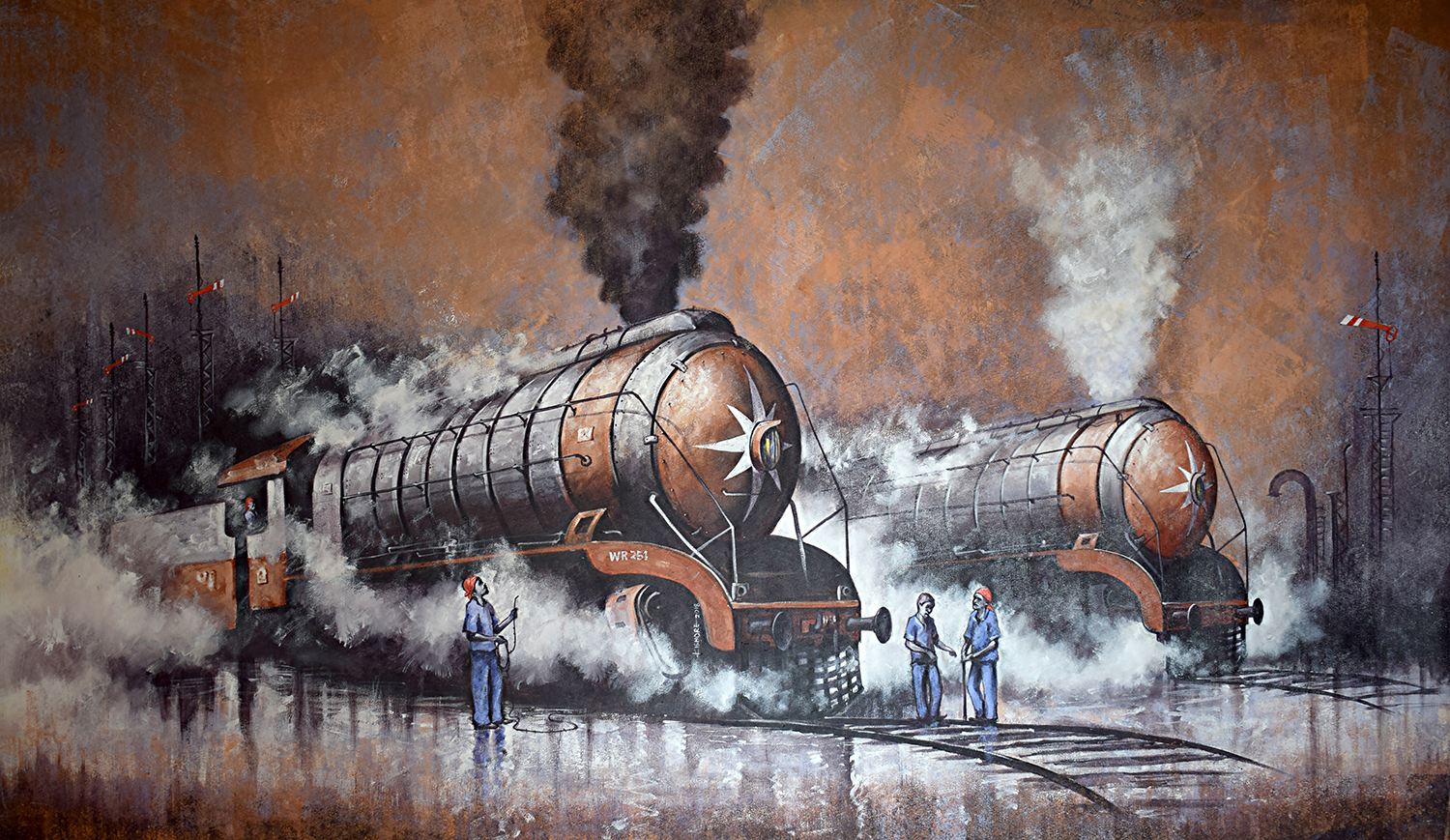 Nostalgia of Indian steam locomotives 41 14725