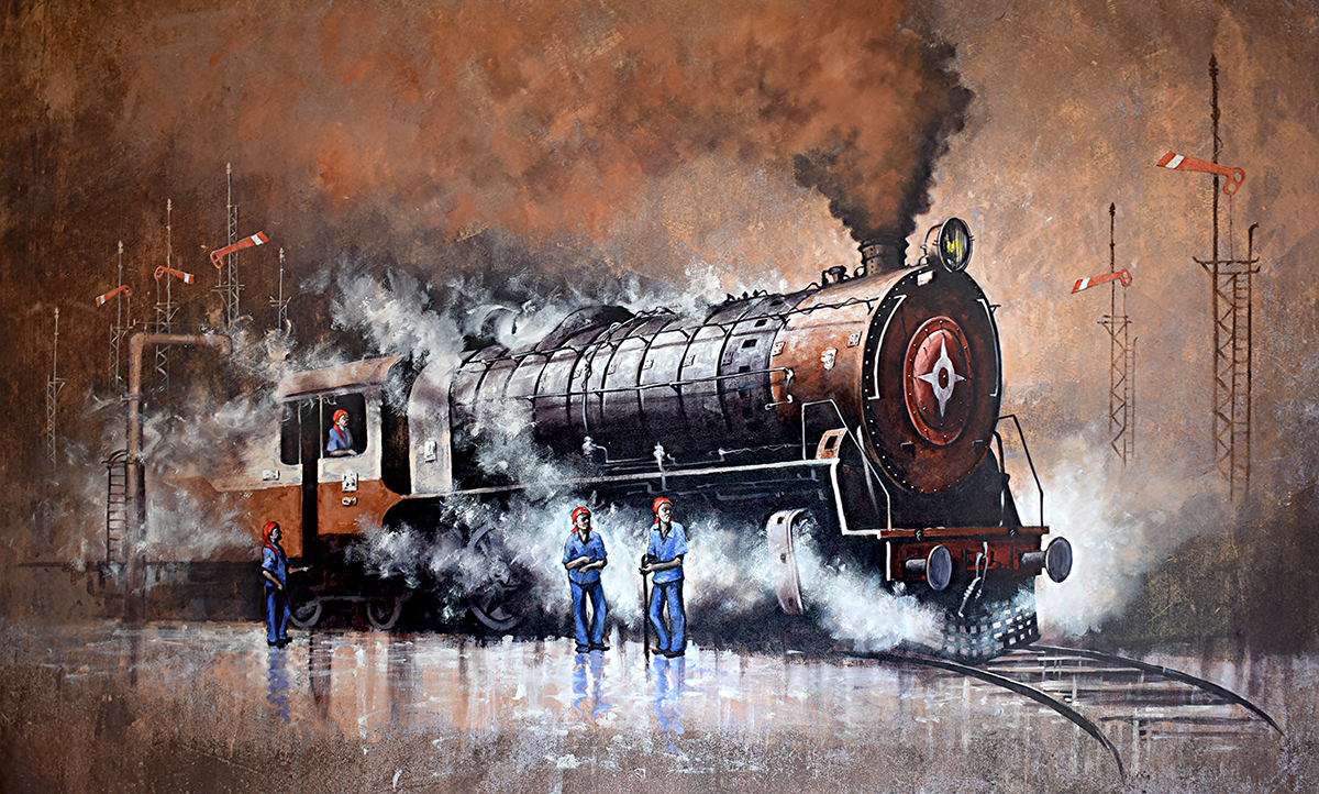 Nostalgia of steam locomotives 42 14726