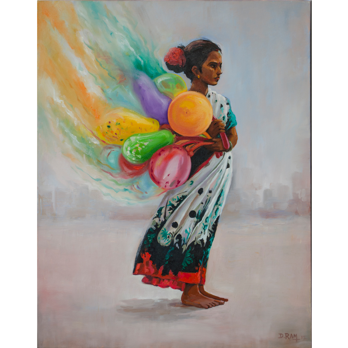 Balloon Seller 14737