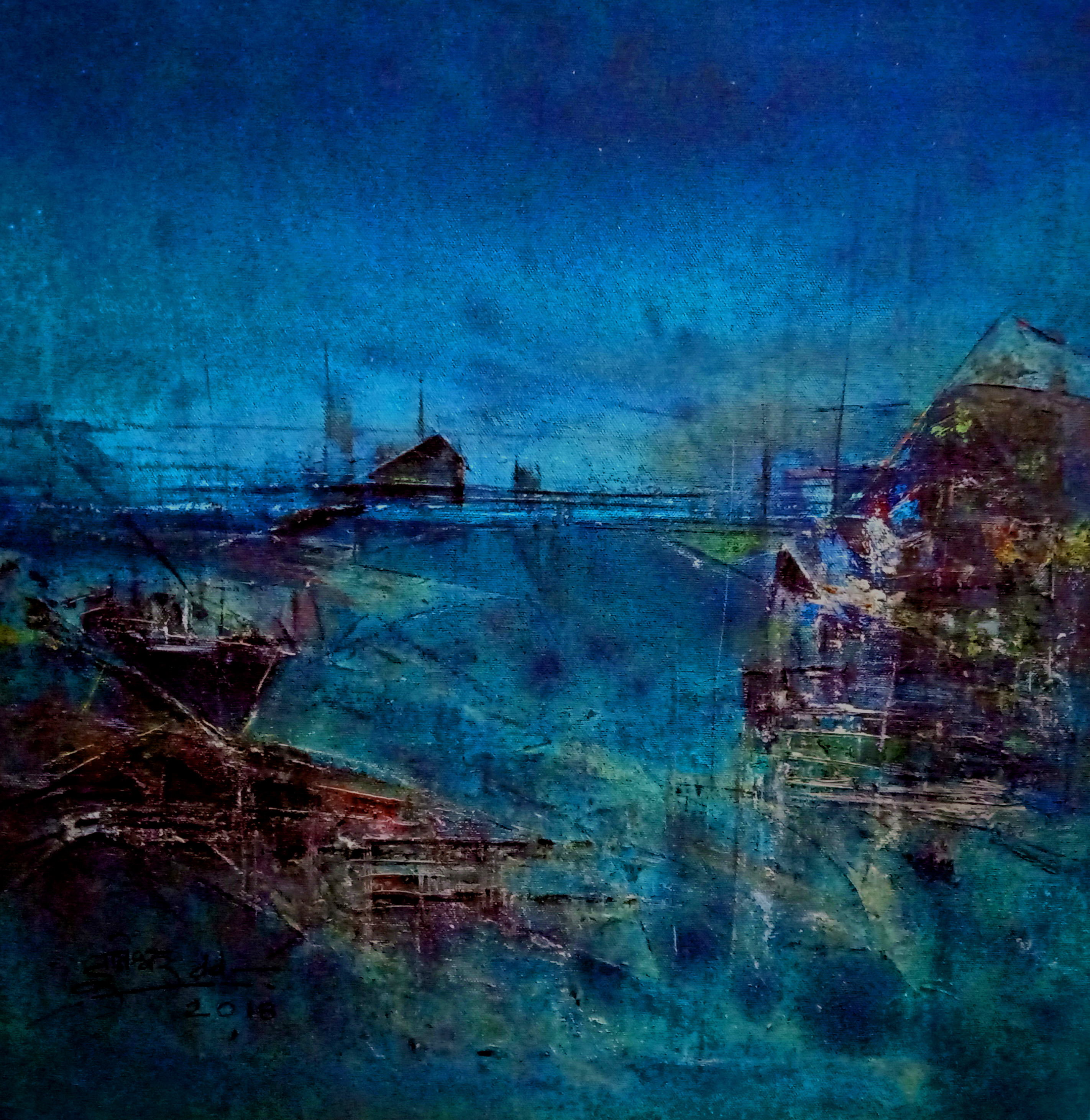 Untitled Blue 11 15054
