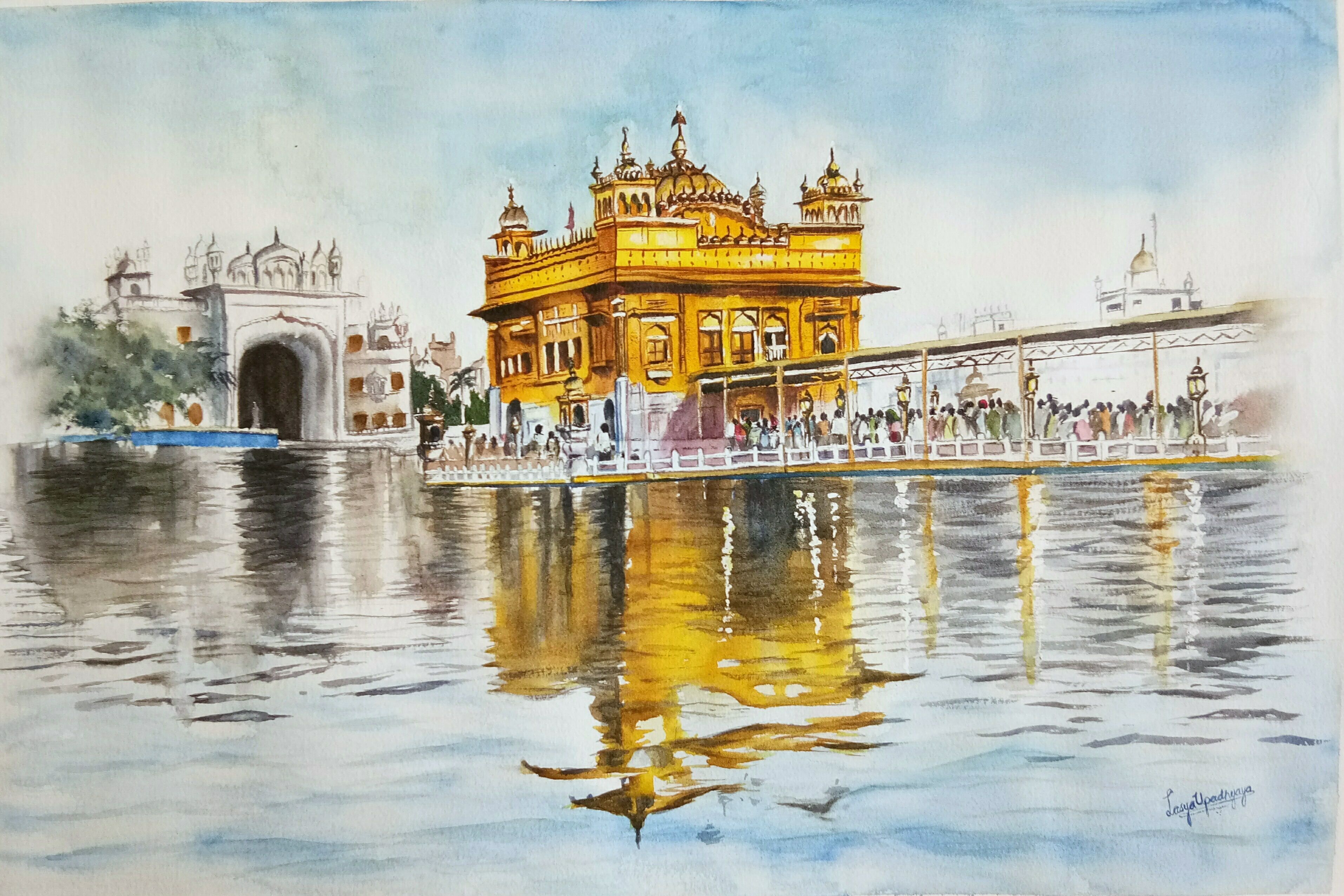 Golden temple 15205