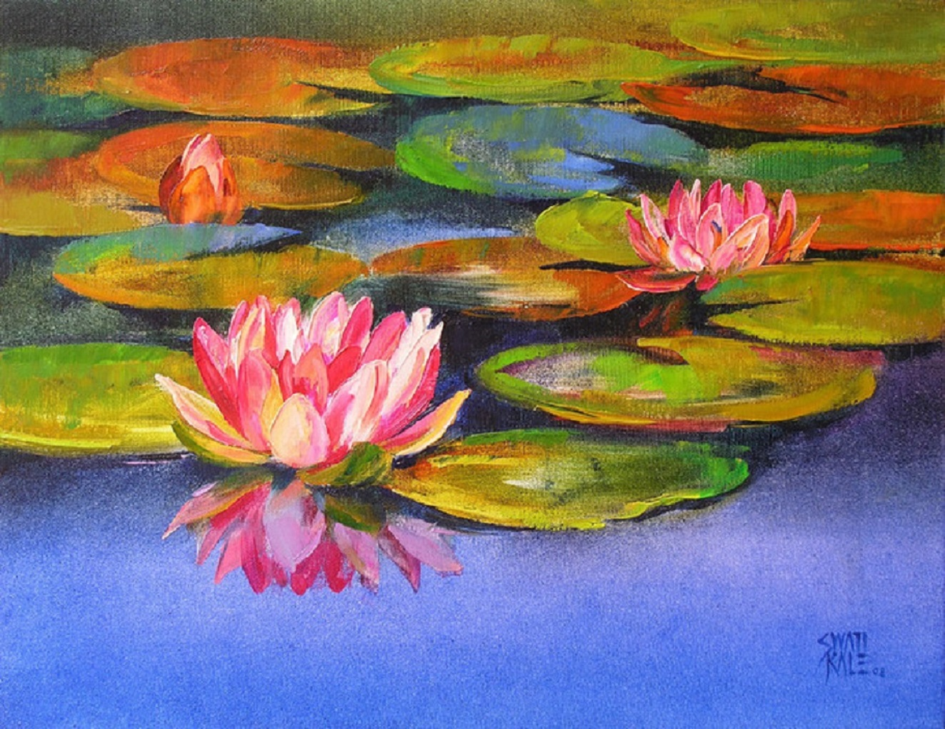 Water lilies 16182