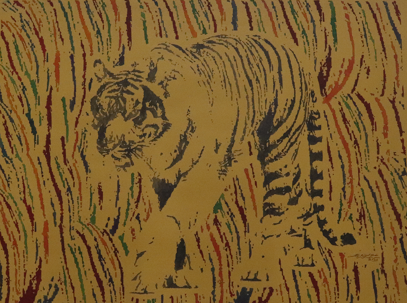 Vanishing Tiger 16437