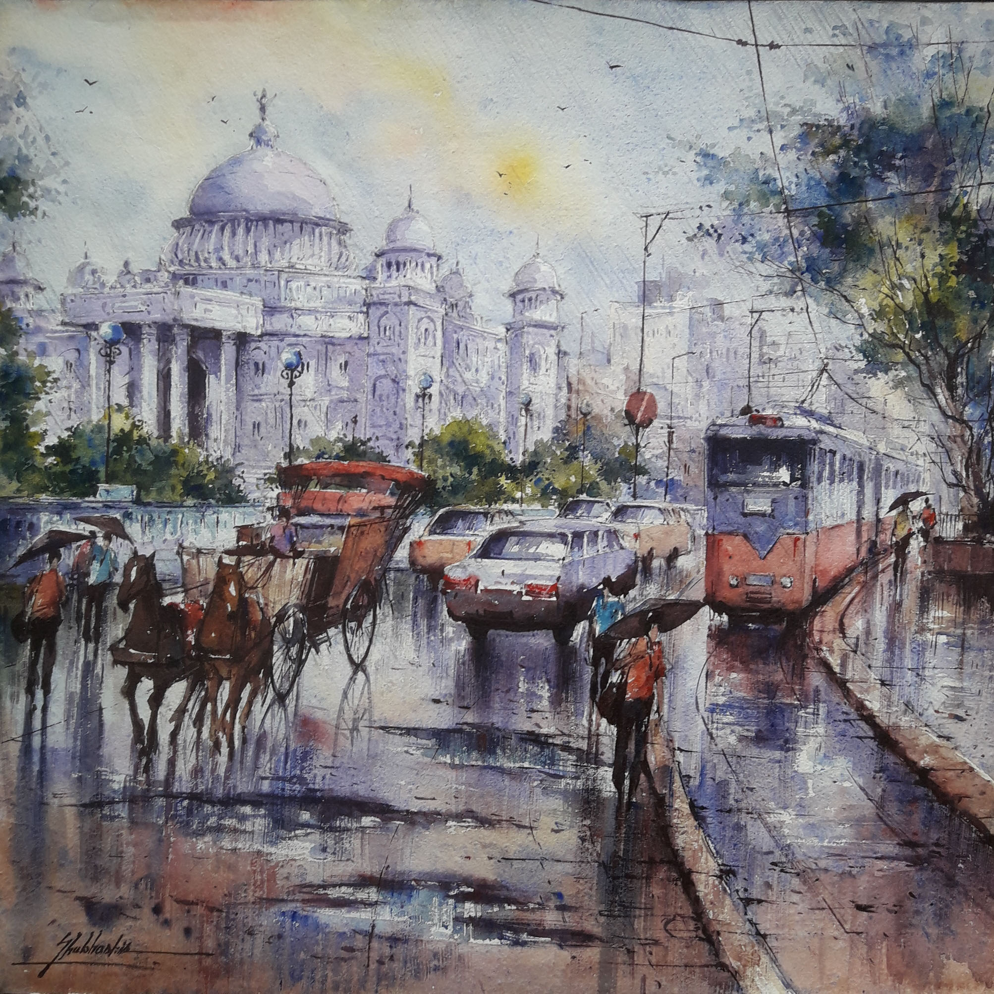 Victoria Memorial in Kolkata 16593