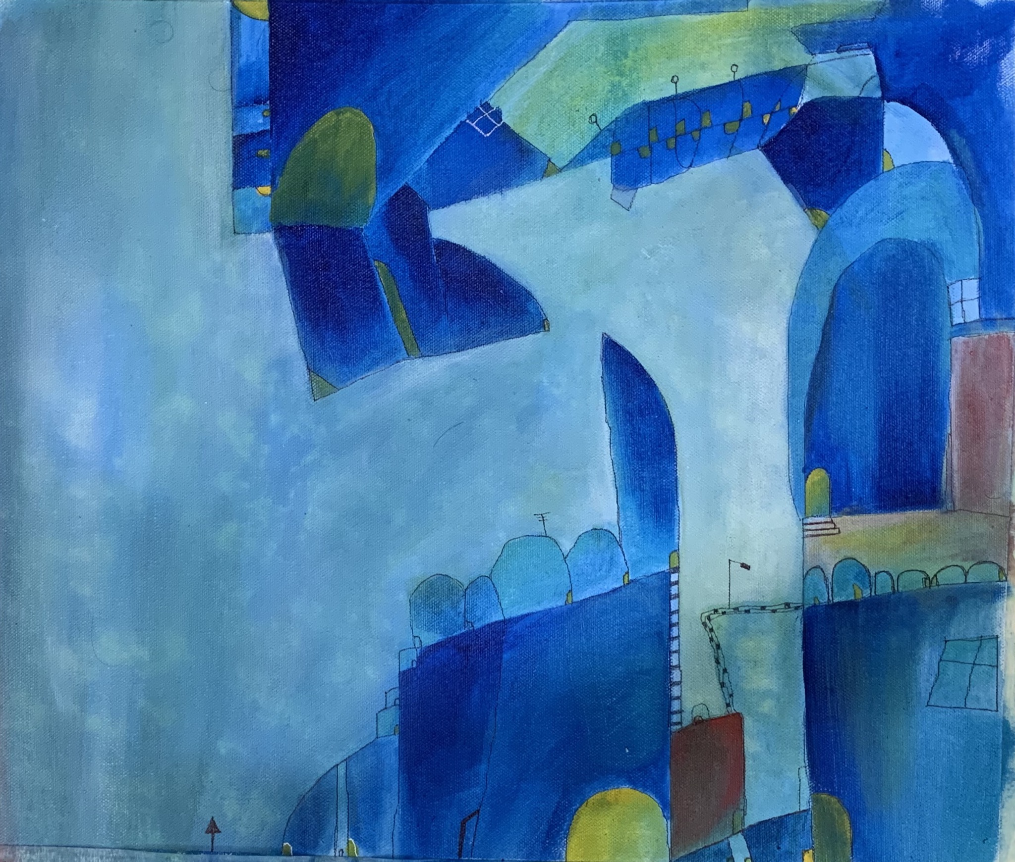 Cityscape Abstract 17107