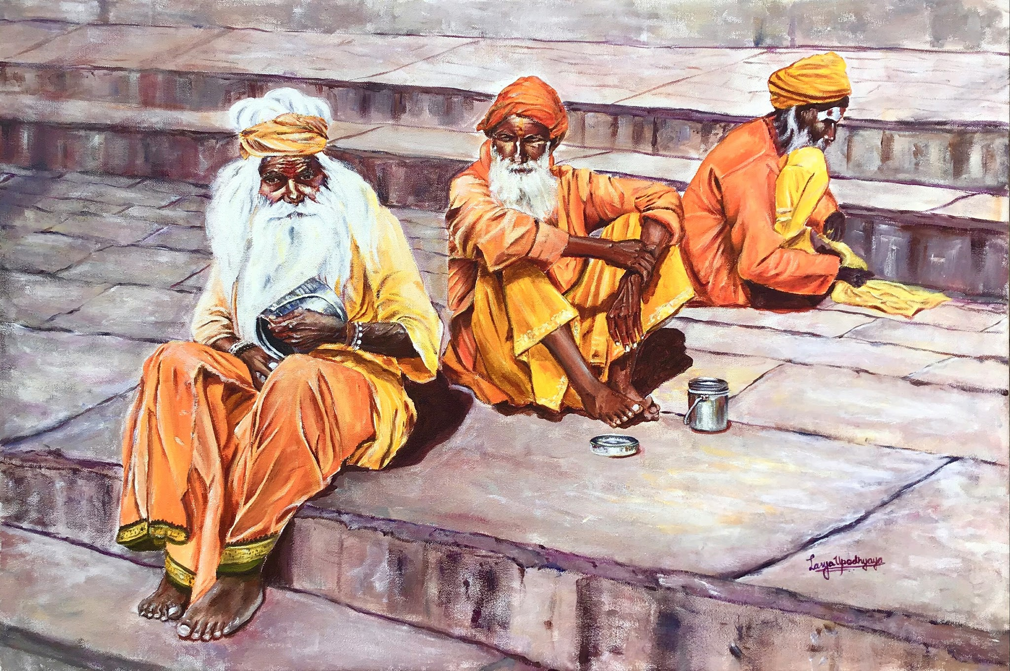 Mendicants of Kashi 17242